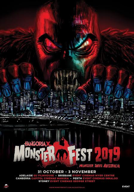 Fangoria Monster Fest 2019 Poster