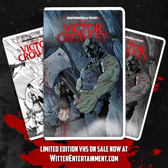 Limited edition vhs cover art Victor Crowley