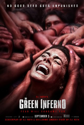 the green inferno poster