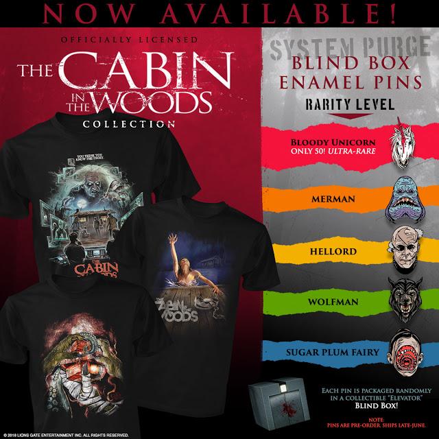 cabin in the woods merchandise image