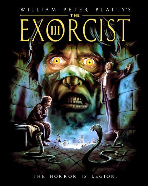 The Exorcist III t shirt design