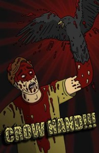 Crow Hand poster