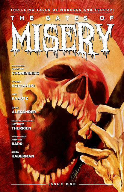 The gates of misery comic cover
