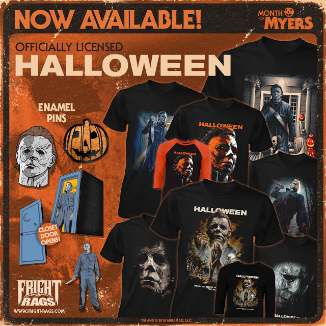 Halloween fright rags image