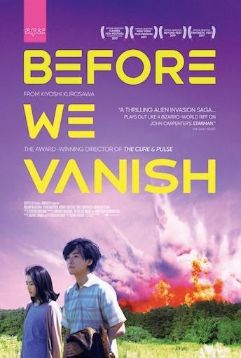 Before We Vanish Poster