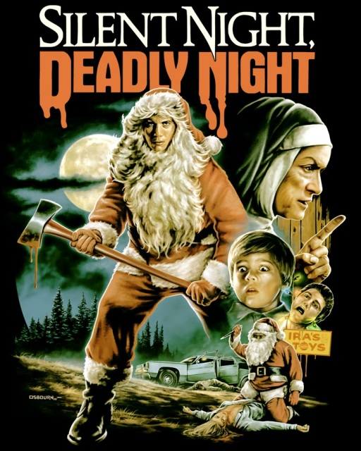 Silent Night, Deadly Night design