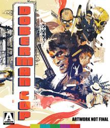 doberman cop cover art