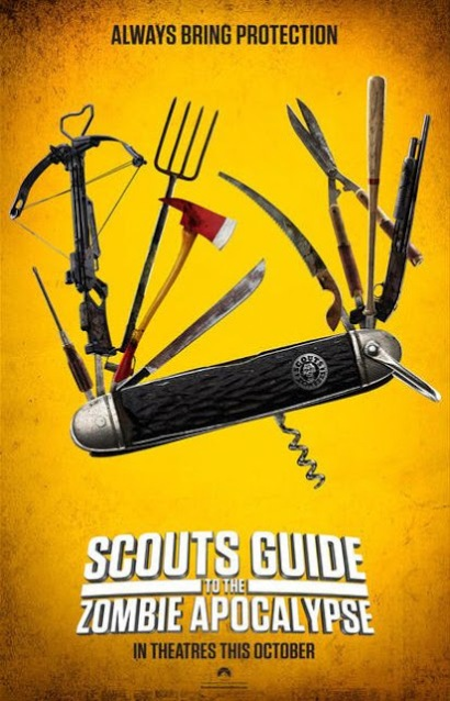 Scouts Guide to the Apocalypse poster