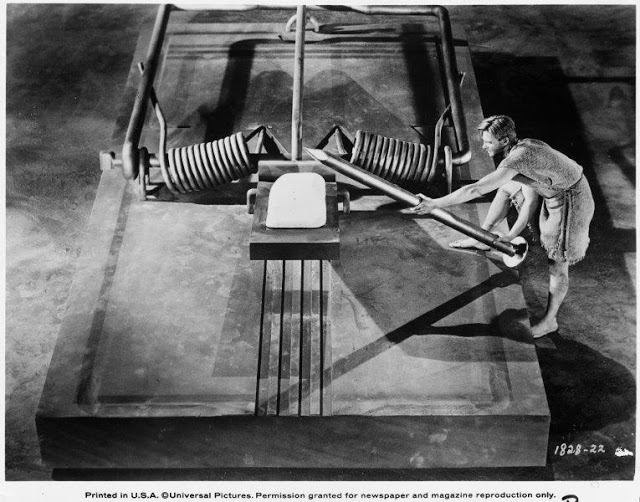The incredible shrinking man image