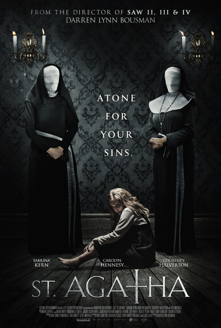St Agatha Poster