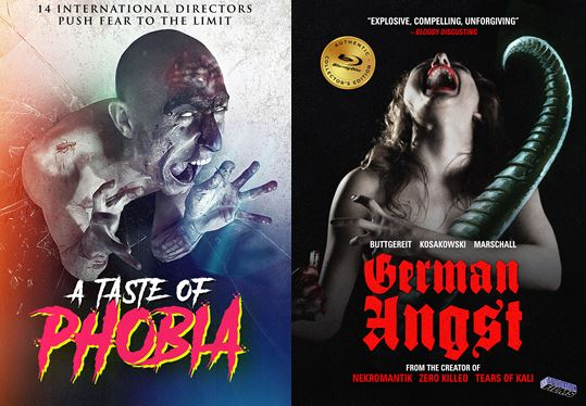 a taste of phobia and German angst posters