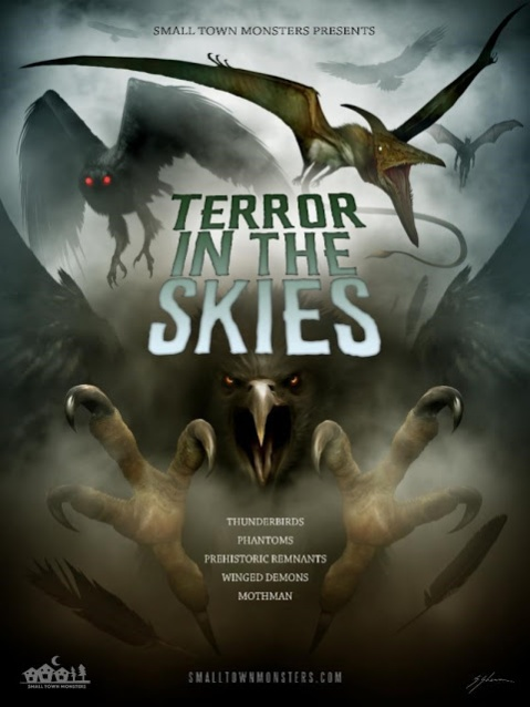 Terror In The Skies Poster