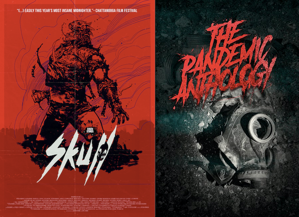 Skull And The Pandemic Anthology Posters