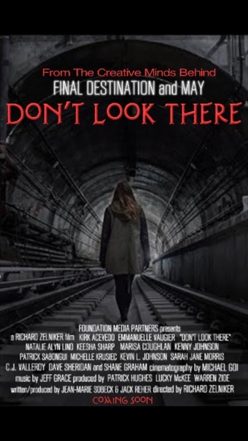don't look there poster