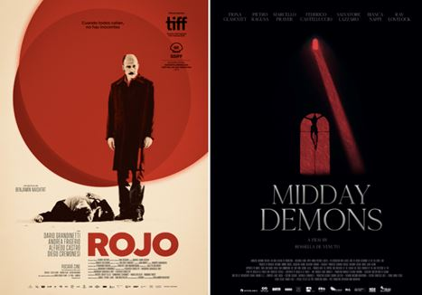 Rojo and Midday Demons posters