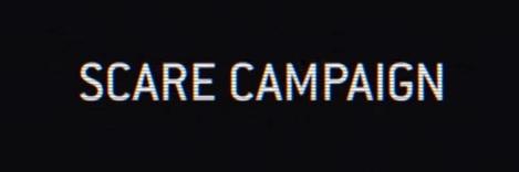 scare campaign banner