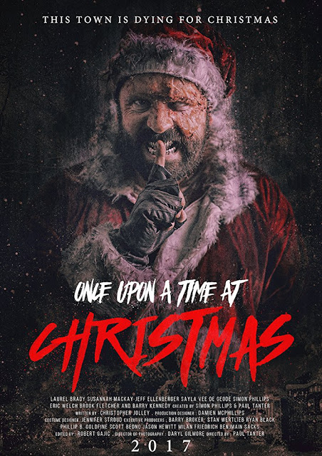 once upon a time at christmas poster