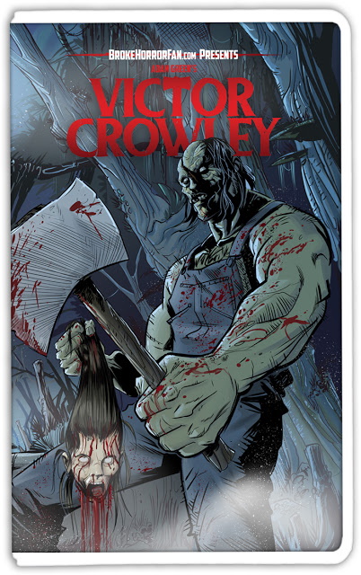 victor crowley vhs cover