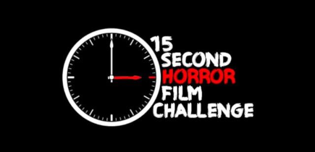 15 second horror film challenge image