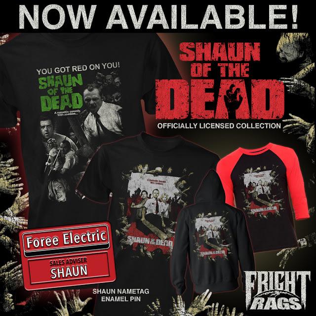 Shaun of the dead merchandise image
