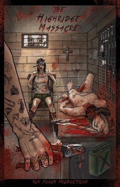 the highridge massacre poster