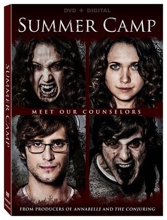 summer camp dvd box art