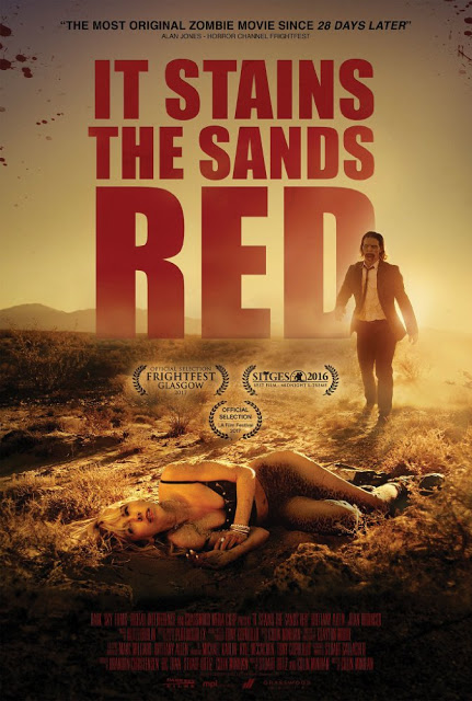 It Stains the Sand Red poster