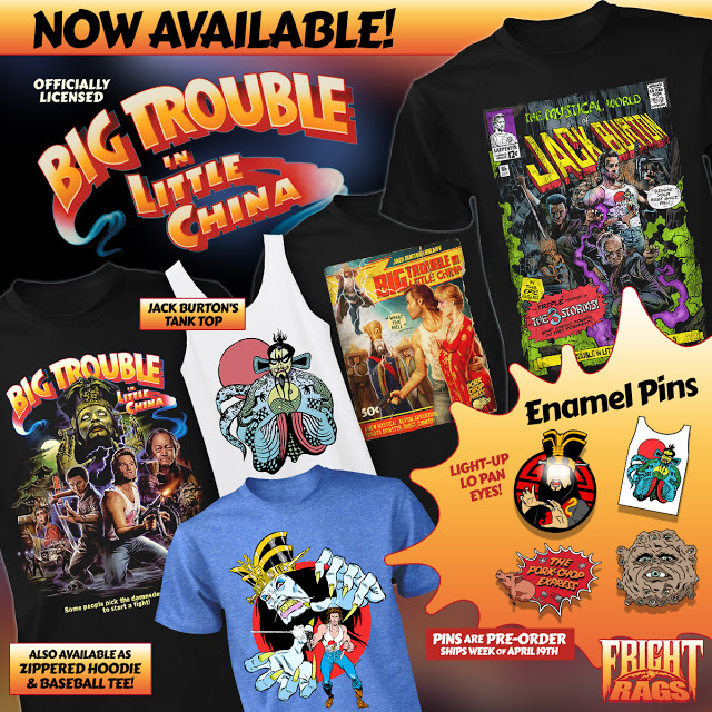 Big Trouble In Little China Apparel