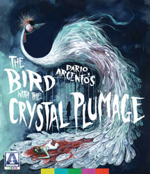 the bird with the crystal plummage cover art