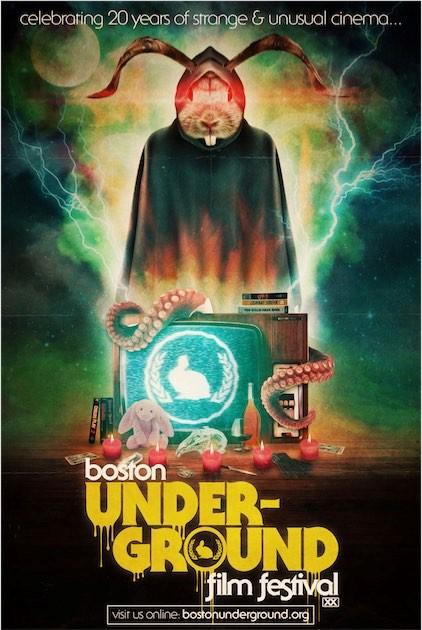 Boston Underground Film Festival Poster